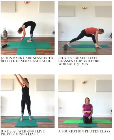 Beginners Level Pilates
