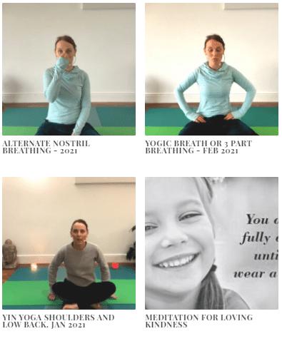Meditations and Yin Yoga